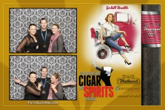 2013-10-13 - Seattle Photo Booth: Washington Cigar and Spirits Festival