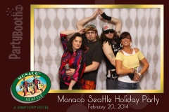 2014-02-20 - Seattle Photo Booth: Hotel Monaco Seattle Annual Associate Party