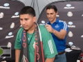 Envia Mala Suerte - The rally cry for fútbol/soccer  fans at the Mexico Mens National Team match vs Honduras, Presented by Allstate - Official Sponsor of the Mexico MNT - at NRG Stadium in Houston, TX on July 1, 2015