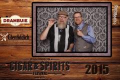 2015-10-03 - Seattle Photo Booth: Washington Cigar and Spirits Festival