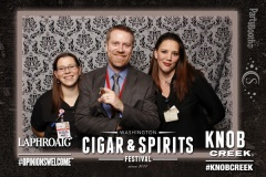 2016-10-08 - Seattle Photo Booth: Washington Cigar and Spirits Festival