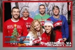 2016-12-03 - Seattle Photo Booth: Kahlua Ugly Sweater Run