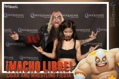 2017-05-05 - Seattle Photo Booth: Macho Libre at Snoqualmie Casino