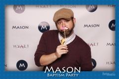 2014-10-04 - Seattle Photo Booth: Mason's Baptism