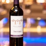 A special bottling from Columbia Crest winery in Washington State - Two Vines is a Merlot-Cab bend