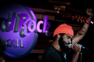 Musicians perform at the Ketel One Oranje launch Party at the Hard Rock Cafe in Seattle