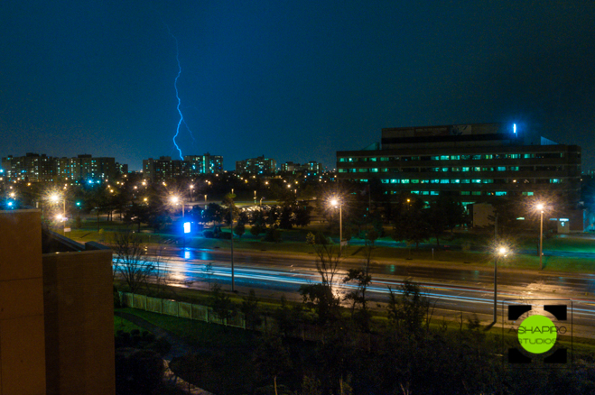 Lighting Storm in Toronto