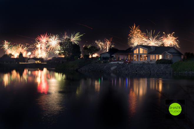 Birch Bay, WA - 4th Of July Evening Fireworks