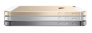 Apple's iPhone 5s, in stores this Friday, September 20 2013, is available in 3 different colors.