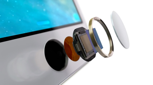 Apple's iPhone 5s features Touch ID - a fingerprint reader to replace entering a passcode