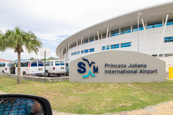 Princess Juliana International Airport on Sint Maarten