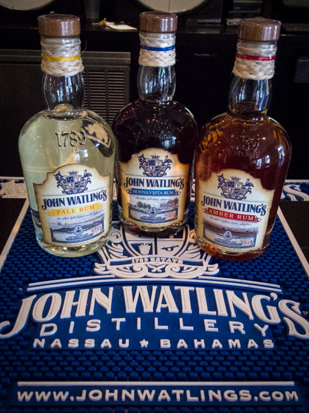 The John Watling's Rum Distillery on Nassau is worth the walk up the hill