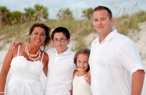 The Norris Family - Taken near Clearwater Beach, FL
