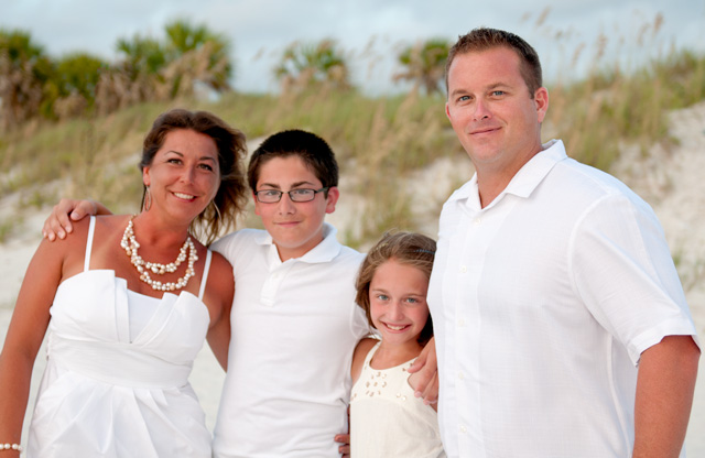 The Norris Family - Taken near Clearwater Beach, FL