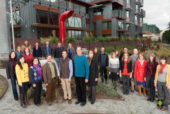 The Watershed Company Holiday Portrait 2013 - First Take - Too Tight and Too Stiff