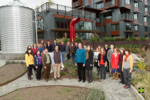 The Watershed Company Holiday Portrait 2013 - Take Two - Still a Little Stiff