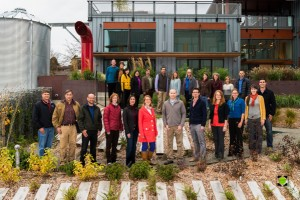 The Watershed Company Holiday Portrait 2013 - Take Three - We're really Close