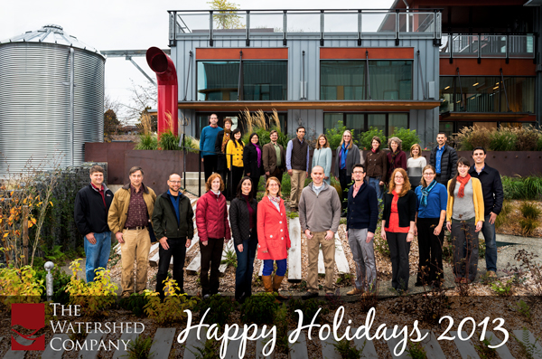 The Watershed Company Holiday Portrait 2013 - Final