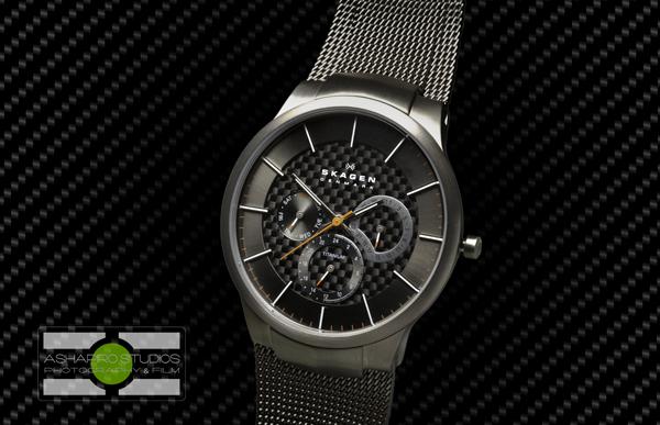 Skagen Titanium Grey Multifunction Watch - ©2014 Ari Shapiro - AShapiroStudios.com