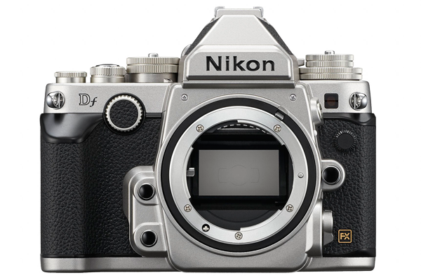 The sensor of a Nikon Df measures 36x24mm and contains 16.2 million pixels
