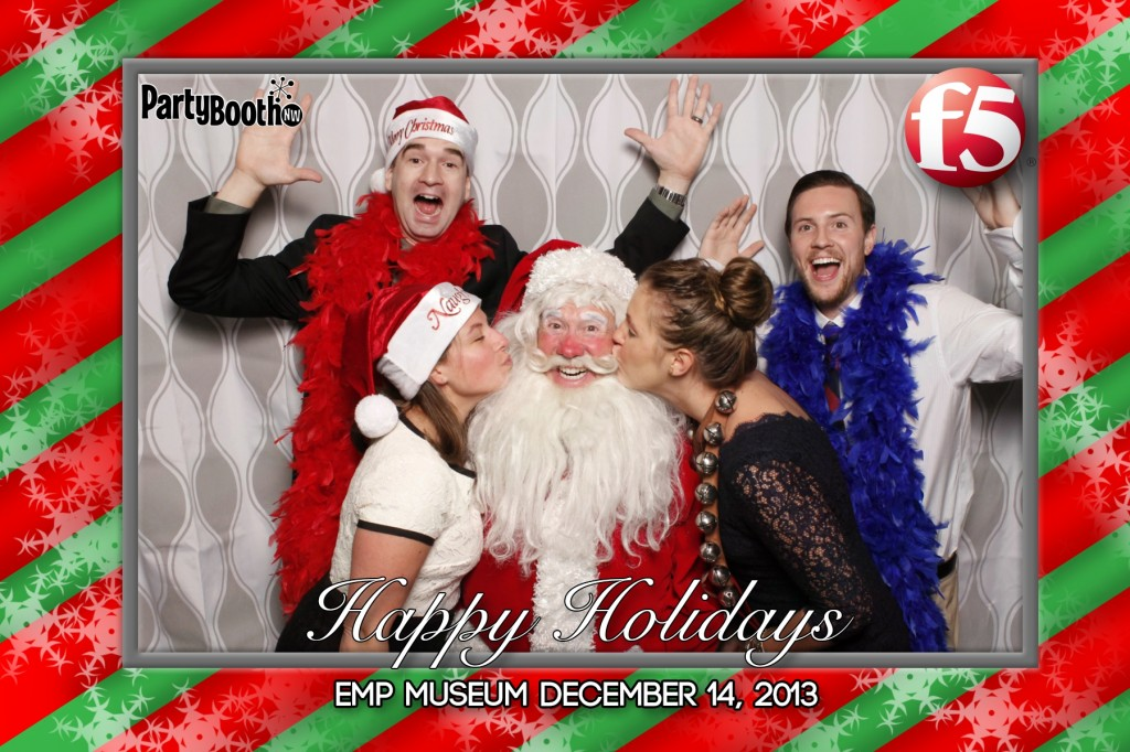 F5 Networks Chose PartyBoothNW for their company holiday party!