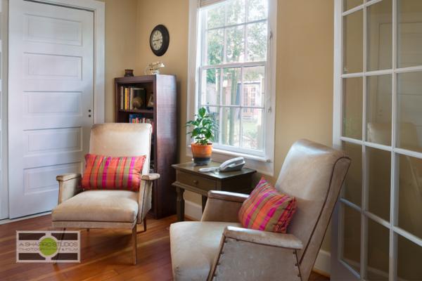 The Study in a Phinney Ridge Craftsman-style Nice Seattle Home - Listing soon! ©2014 Ari Shapiro - AShapiroStudios.com