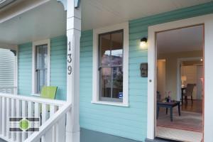 The Entry of a Phinney Ridge Craftsman-style Nice Seattle Home - Listing soon! ©2014 Ari Shapiro - AShapiroStudios.com