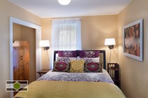 The downstairs bedroom of a Phinney Ridge Craftsman-style Nice Seattle Home - Listing soon! ©2014 Ari Shapiro - AShapiroStudios.com