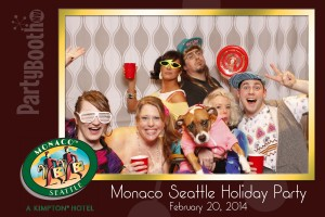 Boutique Seattle Hotel Monaco, part of the Kimpton family, chose PartyBoothNW as the Photo Booth for their Annual Employee Party!