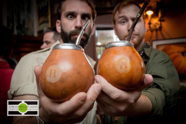 Hendrick's Gin Cocktail served in a unique cup.  ©2014 Ari Shapiro - AShapiroStudios