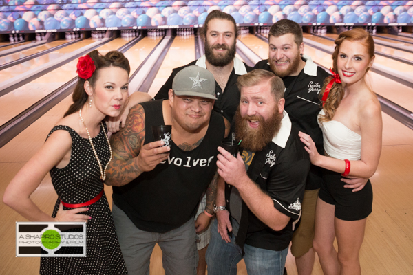 Bartenders in and around Spokane, WA were treated to a night of bowling and fun with Sailor Jerry! Spokane Event Photography @2014 Ari Shapiro - AShapiroStudios.com