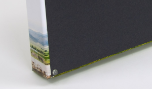 Fine Art Gallery Wrap Prints from AShapiro Studios include rubber bumpers at the bottom edge of each print, so neither the print nor your walls are damaged.