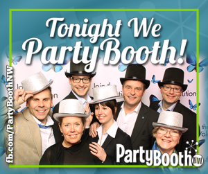 The Northwest's most FUN and Interactive Photo Booth for Seattle, Bellevue, Everett, Tacoma and Beyond - PartyBoothNW - Tonight We PartyBooth!