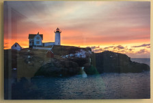 """""""There's a Light"""" - Photo by Ari Shapiro. Metal Print with wall hook, 1/2"""" Standout from wall. Measures 24""""w x 16""""h. $75"""