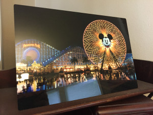 """""""Mouse Ears"""" - Photo by Ari Shapiro. Metal Print with wall hook and easel back, 1/2"""" Standout from wall. Measures 12""""w x 8""""h. $25"""