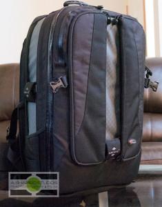 Bag #1 - The still photography kit. A Lowepro Vertex 300. Photography by Ari Shapiro - AShapiroStudios.com
