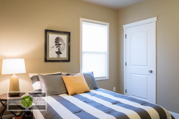 Bedroom #1 of a Ballard updated Craftsman house.  Seattle Real Estate Photography ©2015 Ari Shapiro - AShapiroStudios.com