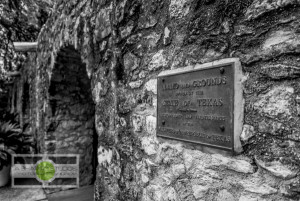 Many of the historical walls are still in place in and around The Alamo in San Antonio. Travel Photography ©2015 Ari Shapiro - AShapiroStudios.com
