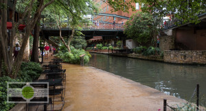 The Riverwalk - one of the most known tourists destinations in San Antonio. Travel Photography ©2015 Ari Shapiro - AShapiroStudios.com