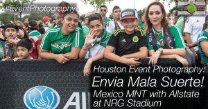 Envia Mala Suerte - The rally cry for fútbol/soccer fans at the Mexico Mens National Team match vs Honduras, Presented by Allstate - Official Sponsor of the Mexico MNT - at NRG Stadium in Houston, TX on July 1, 2015. Houston Event photography ©2015 Ari Shapiro - AShapiroStudios.com