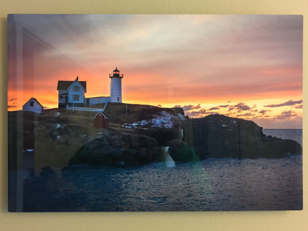 """There's a Light"" - Photo by Ari Shapiro. Metal Print with wall hook, 1/2"" Standout from wall. Measures 24""w x 16""h. $75"